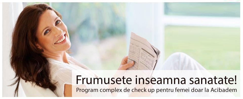 Check-up complex pentru femei la ACIBADEM - oferta speciala: 690 Euro